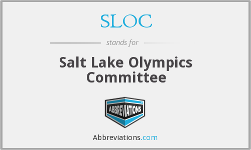 SLOC - Salt Lake Olympics Committee