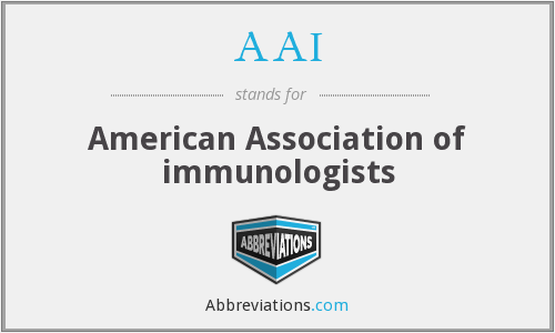 AAI - American Association of immunologists