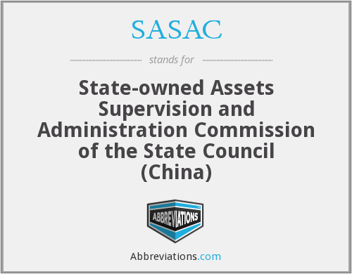 What does SASAC stand for?