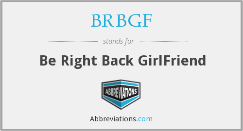 What does BRBGF stand for?
