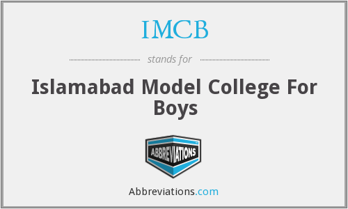 IMCB - Islamabad Model College For Boys