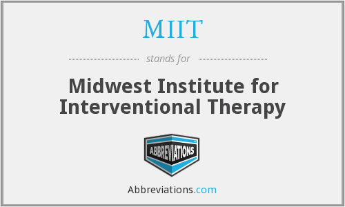 MIIT - Midwest Institute for Interventional Therapy