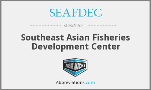 SEAFDEC - Southeast Asian Fisheries Development Center
