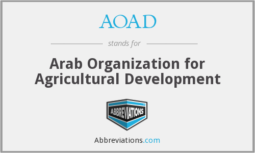 What does AOAD stand for?
