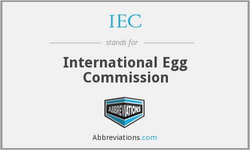 IEC - International Egg Commission