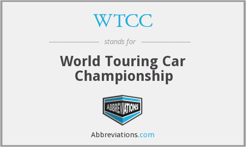 WTCC - World Touring Car Championship
