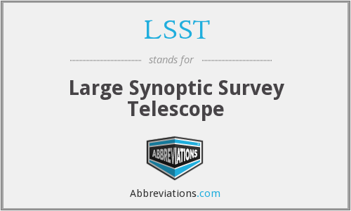 What does LSST stand for?