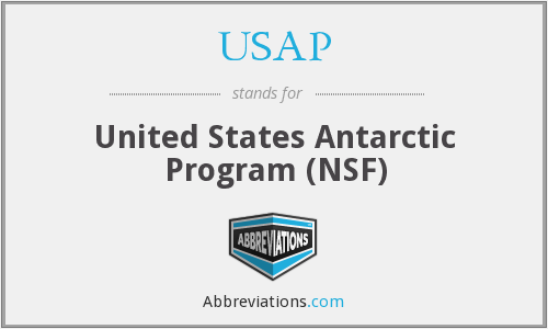 USAP - United States Antarctic Program (NSF)