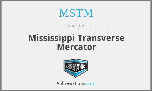 MSTM - Mississippi Transverse Mercator