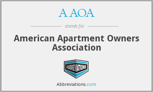 AAOA - American Apartment Owners Association