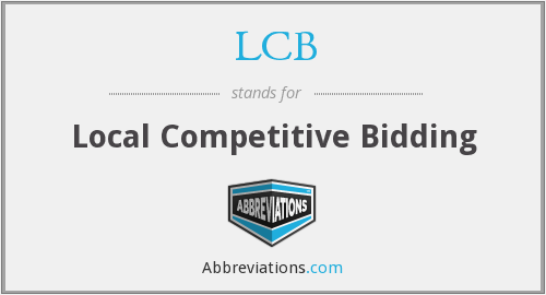 LCB - Local Competitive Bidding