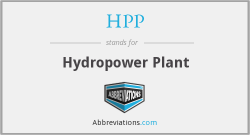 HPP - Hydropower Plant