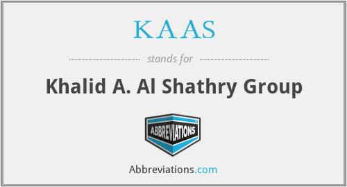 KAAS - Khalid A. Al Shathry Group