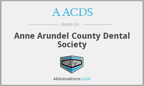 What does AACDS stand for?