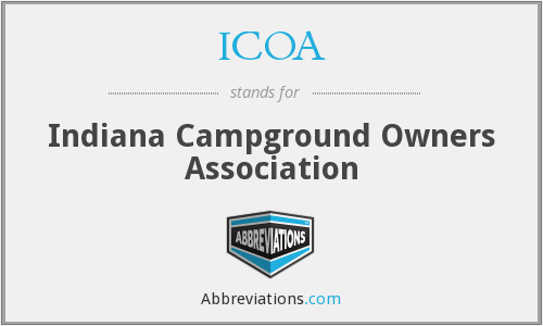 ICOA - Indiana Campground Owners Association
