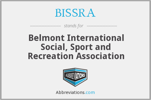 What does BISSRA stand for?