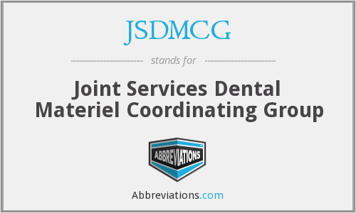 What does JSDMCG stand for?