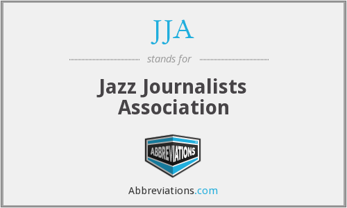 JJA - Jazz Journalists Association
