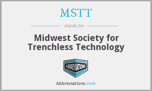 MSTT - Midwest Society for Trenchless Technology