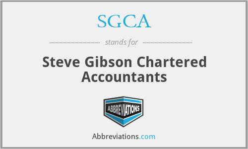 SGCA - Steve Gibson Chartered Accountants