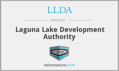 LLDA - Laguna Lake Development Authority