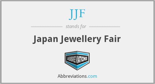 JJF - Japan Jewellery Fair