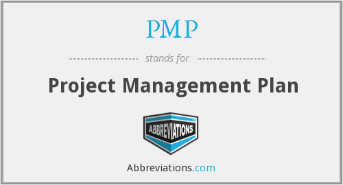 PMP - Project Management Plan