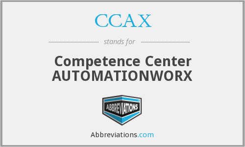 CCAX - Competence Center AUTOMATIONWORX