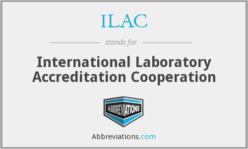 What does ILAC stand for?