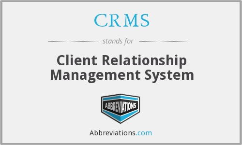 CRMS - Client Relationship Management System