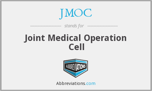 JMOC - Joint Medical Operation Cell
