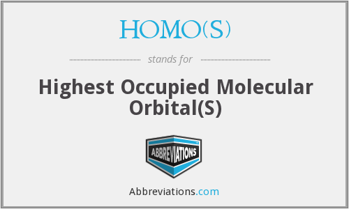 HOMO(s) - highest occupied molecular orbital(s)