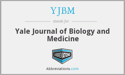 YJBM - Yale Journal of Biology and Medicine