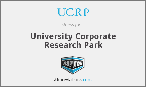 UCRP - University Corporate Research Park