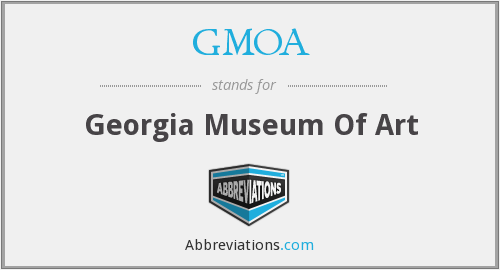 GMOA - Georgia Museum Of Art