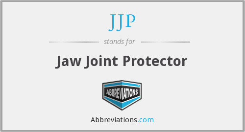 JJP - Jaw Joint Protector