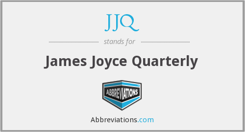 What does JJQ stand for?