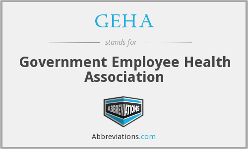 GEHA - Government Employee Health Association