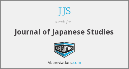 What does JJS stand for?