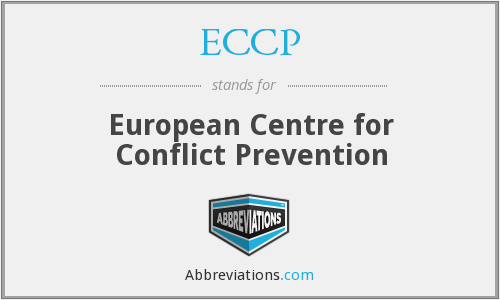 ECCP - European Centre for Conflict Prevention