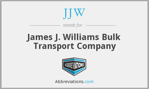 JJW - James J. Williams Bulk Transport Company