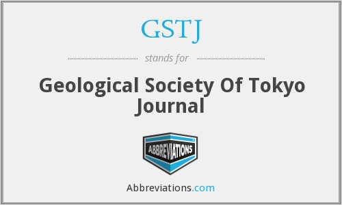 GSTJ - Geological Society Of Tokyo Journal