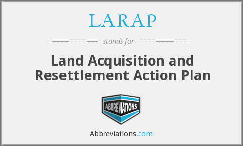 What does LARAP stand for?