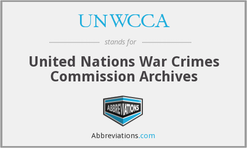 What does UNWCCA stand for?