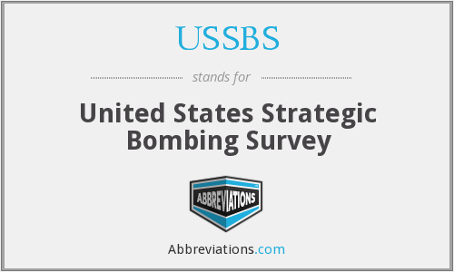 What does USSBS stand for?