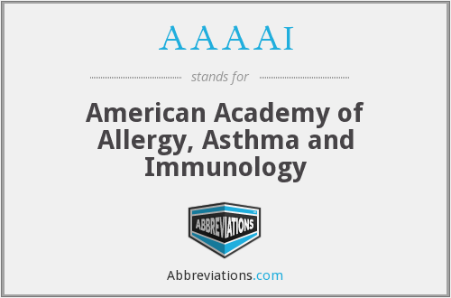 AAAAI - American Academy of Allergy, Asthma and Immunology