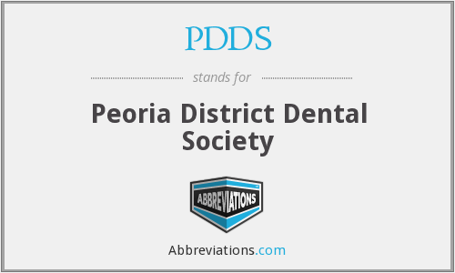 What does PDDS stand for?