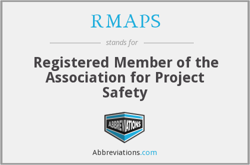 What does RMAPS stand for?