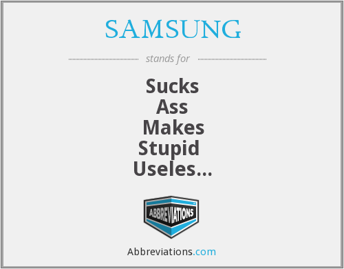 What does SAMSUNG stand for?