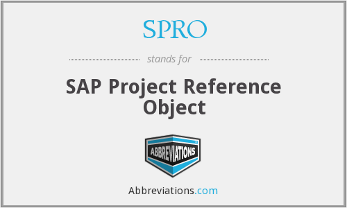 What does SPRO stand for?